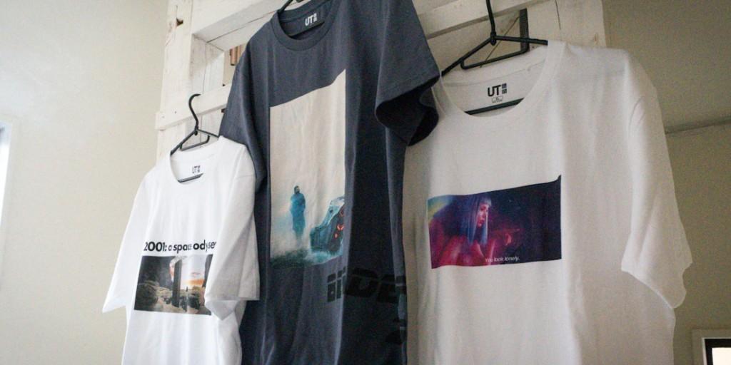 ユニクロ、UT、Tシャツ、ブレードランナー2049、2001年宇宙の旅