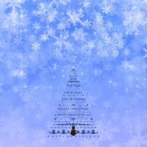 VOID、ロック画面、ホーム画面、壁紙、待ち受け画面、プレゼント、猫、キャット、クリスマス、クリスマスツリー、映画、シネマ、シネマガゼットVOID、ヴォイド、Christmas、Xmas、PC用