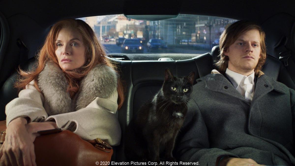 フレンチ・イグジット、French Exit、ロンリーな猫好き母息子、ダーク・コメディ、アザゼル・ジェイコブス、ミシェル・ファイファー、ルーカス・ヘッジス、トレイシー・レッツ、ヴァレリー・マハフェイ
