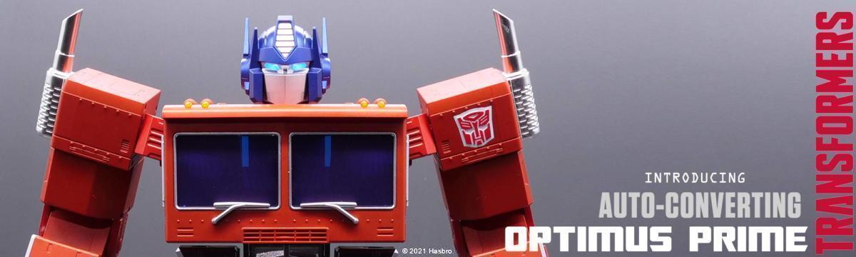 トランスフォーマー、オプティマス・プライム、Hasbro、Robosen Robotics、Transformers Optimus Prime Auto Converting Programmable Robot Collector's Edition
