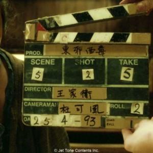 ウォン・カーウァイ、1ミリの10分の一、ONE-TENTH OF A MILLIMETER APART、『楽園の瑕』(1994年)、『恋する惑星』(1994年)、『天使の涙』(1995年)、『ブエノスアイレス』(1997年)、『花様年華』(2000年)、『2046』(2004年)、