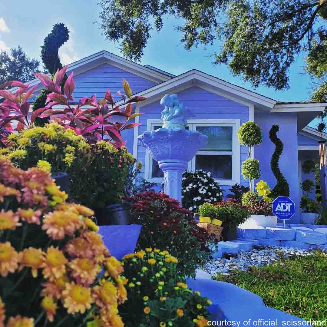 エドワード・シザーハンズ、フロリダの家、ミュージアム、ジョニー・デップ、ティム・バートン、ティム・バートン、ウィノナ・ライダー、シザーランド、